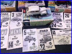 10 Pyro model car kit lot Built Perfect Model Assembled Kits With Original Box