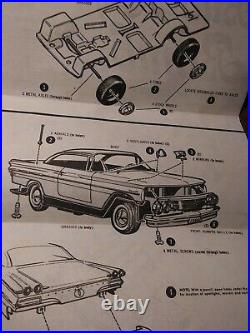 125 Vintage AMT T-140 1960 Pontiac Bonneville Buttercup Wild Flower Series