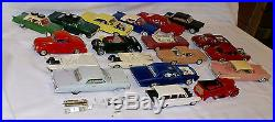 15 Plus Vintage 1960's Model Car Junkyard Cars by JOHAN, AMT & REVELL