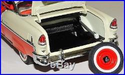 1955 Chevy Built Bel Air Vintage Car 1 Model 12 Carousel Red 18 1957 1956 24 8