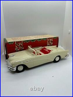 1956 Buick AMT 1/25 scale promo friction model car with box convert