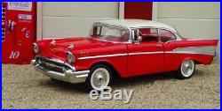 1957 Chevy Chevrolet Built Vintage 25 Car 1 24 Carousel Red 12 Model 18 1955