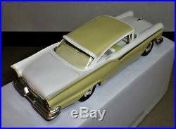1957 Ford Fairlane 500 Hardtop, Dealer Promo-Coaster. Straight Body, Inca Gold