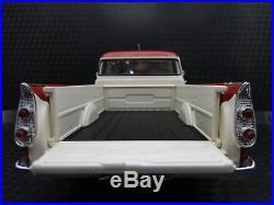 1958 Dodge Built Pickup Truck Sport 1 Vintage 25 Tailfin Classic Model Car Metal