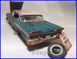 1958 Edsel Pacer Unrestored Junkyard Weathered Barn Find Model Car AMT 1/25