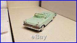 1959 AMT Mercury Convertible VERY Rare TRUE promo car RARE Aqua Near Mint! Ford