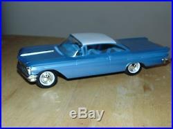 1960 AMT Pontiac Bonneville 2D Dealer Promo Model Car NMint w NM Window Box