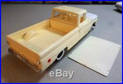 1960 CHEVROLET FLEETSIDE. Vintage SMP-AMT Annual Kit #7960. Nice Builder