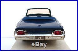 1961 Buick Invicta 2-door Convertible Promo Model Amt Dark Blue
