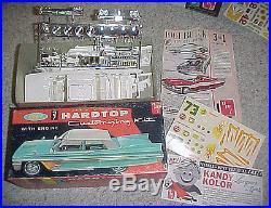 1961 Buick hardtop- AMT 1/25th scale plastic model car kit