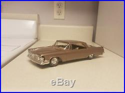 1962 AMT Chrysler Imperial Metallic ROSE TRUE Promo car VERY rare EXCELLENT 62