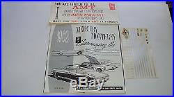 1962 Mercury Monterey Convertible AMT 3in1 kit # K312