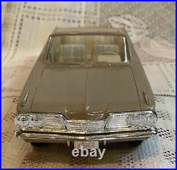 1962 Pontiac Tempest Convertible Promo Car Tan Friction in Box AMT
