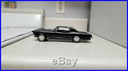 1963 AMT Buick Riviera TRUE Promo car VERY Rare BLACK, MINT, UNIQUE car 63 G. M