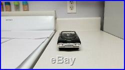 1963 AMT Ford Thunderbird CONV TRUE Promo car BLACK XXX-RARE wheels SUPERB! 63