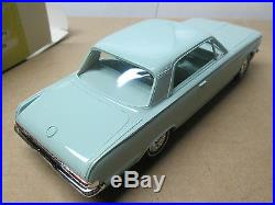 1963 AMT Plymouth Valiant 2dr Hardtop Turquoise New in Original Box No Reserve