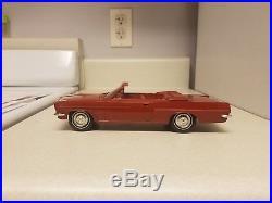 1963 AMT Pontiac Tempest LeMans VERY rare CV TRUE Promo car NEAR MINT 63 G. M