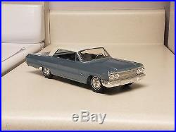 1963 Chevrolet Impala 2-H TRUE promo car Near MINT VERY Rare Fac 2-tone AMT G. M