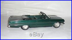 1963 Chevrolet Impala SS Convertible Promo Model Car by AMT