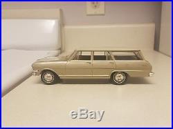 1963 Chevrolet Nova S. W. TRUE Promo car MINT Tan/Met. Gold AMT Chevy 63 G. M