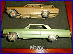 1963 Chevy Vintage Dealer Promo Model Half Car Wall Display Plaque In Frame Read