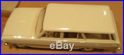 1963 Chevy ll Nova Wagon AMT Craftsman 1/25 built model kit Chevrolet unpainted
