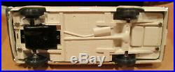 1963 Plymouth Valiant with box AMT white dealer promo 1/25 model