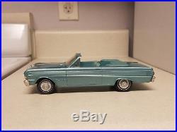 1964 AMT Ford Falcon CONVERTIBLE Near MINT TRUE Promo car EXTRA-RARE Color