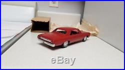 1964 AMT Oldsmobile Cutlass SUPERB EXTRA-Rare RED TRUE Promo car with ORIG BOX