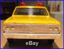 1964 Chevelle Malibu Station Wagon School Bus AMT 1/25 dealer promo Chevrolet