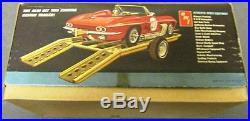 1964 Chevrolet Corvette AMT 1/25 Model Kit 6914 Sting Ray Budd Anderson Custom
