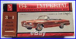 1964 Chrysler Imperial Model Kit, Amt, Open Box, Complete