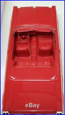 1965 AMT Ford RED CONVERTIBLE TRUE Promo car VERY rare with ORIG BOX, ORIG H. O