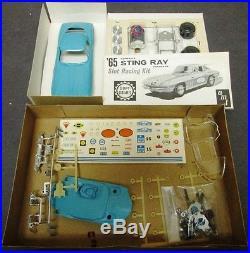 1965 Chevrolet Corvette Stingray 1/25 AMT Slot Car Race Kit 9001-600 NIB NOS 65