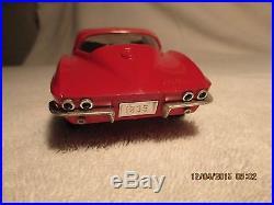 1965 Corvette Coupe Promo Car AMT 1/25