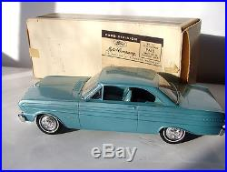 1965 FORD FALCON SPRINT HARDTOP PROMO MODEL AMT With BOX DYNASTY GREEN