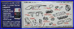 1965 Ford Thunderbird Convertible Plastic Car Model Kit# 6215-150 Amt 1/25 Scale
