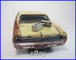 1965 Pontiac Grand Prix Pro Built Weathered Barn Find Junker Custom 1/25 AMT