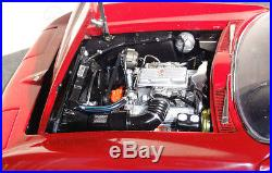 1965 Vette Chevy 1 Corvette Sport Race Car Exotic 18 Vintage 24 Carousel Red 12