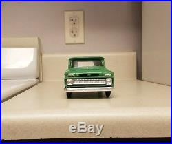 1966 AMT Chevrolet TRUE Promo car PICK-UP MINT VERY rare truck/color G. M. Chevy