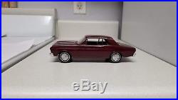 1966 AMT Ford Falcon MINT TRUE Promo car XTRA rare BURGUNDY! 66 FoMoCo