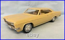 1966 Chevrolet Impala Ss Hardtop Promo Friction Mustard