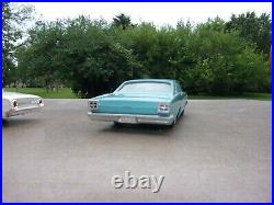 1966 Ford Dealer Promo Car Turquoise Very Good +