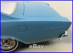 1966 Ford Galaxie 500 Dealer Promo Model Blue 7 Liter 125 Clean No Damage