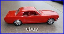 1966 Ford Mustang Dealer Promo Car Poppy Red EXCELLENT