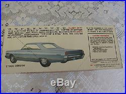 1966 Mercury Hardtop Custom or Stock AMT Kit 125 Factory Sealed Perfect # 2206