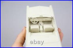 1966 Pontiac Bonneville Convertible Dealer Promo Car Ivory 1/25 Scale With Box