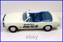 1967 Camaro Indy Pace Car Promo with plastic display case