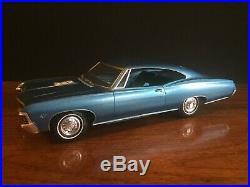 1967 Chevy Chevrolet Impala SS 427 Dealer Promo Friction Car Vintage Toy AMT