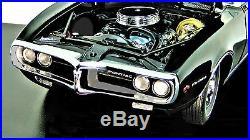 1967 Firebird 1 Pontiac Built Car 12 Race Sport Model 24 Carousel Black 18 gto 8